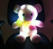 мягкие светящиеся медвежата