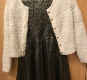 Красивое платье с кофтой на праздник 🎉
