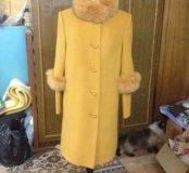 Пальто зимнее новое!