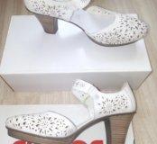 Новые туфли Рикер 41 размер,кожа
