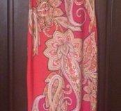 Летнее длинное платье Sandra Darren