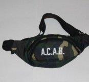 Поясная сумка ACAB