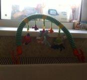 коврик развивающий,игрушка на коляску