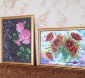 Картины ручной работы из бисера