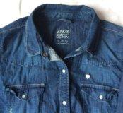 Рубашка джинсовая Zara