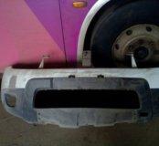 Бампер передний рено дастер