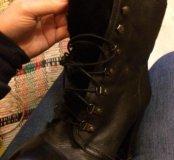 Ботинки с мехом Сапоги ботильоны полусапожки
