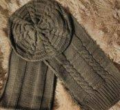 Комплект берет+ шарф