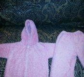 Пижама розовая очень тёплая