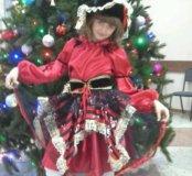 Новогодний костюм для девочки-пиратка
