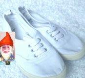 💕💕💕.кеды  кроссовки в живую подошва белая