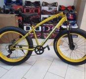 Зимний велосипед фэтбайк