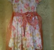 Платье детское 34 размер