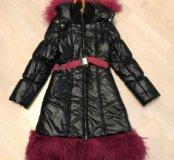 Зимнее пальто р.146/152 Noble People