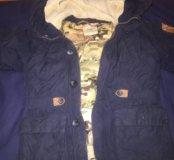 Куртка зимняя на мальчика пуховик