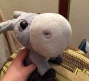 Мягкая игрушка грустный ослик фирма Big Headz.