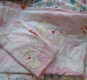Одеяло детские +белье