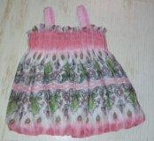 Платье - сарафан для малышки.