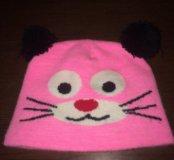 Детская шапка на 1-3 года