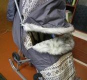 Санки коляска Скандинавия