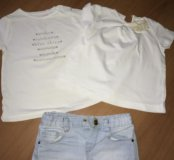 Футболки и шорты Zara