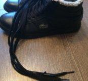 Кроссовки зимние лакост Lacost