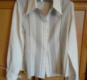Две рубашки/блузки, 44-46 размера