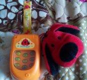 Игрушка музыкальный телефон k's kids