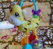 Игрушка-погремушка жирафик Chicco