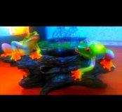 Продам игрушки лягушка