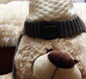 Фирменная зимняя шапка Choupette 46-48р