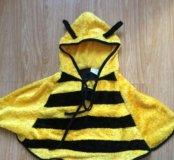 Костюм накидка пчелы! С усиками !98-104