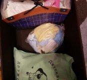 Вещи пакетами ,
