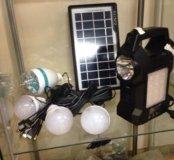 Автономная система от солнечной батареи