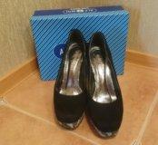 Туфли замшевые Alfavit, р 39