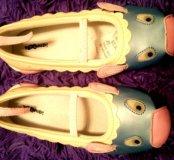 Детские туфельки мышки