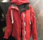 Куртка  46-48р, зимняя, горнолыжная, красная