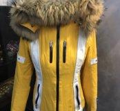 Зимний костюм горнолыжный 44-46р,