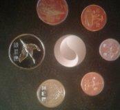 Годовой набор монет Южная Корея 2012