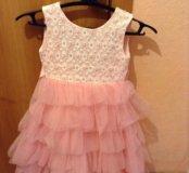 платье нарядное для девочки 8-10 лет