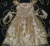 Нарядное платье на 116-125см рост