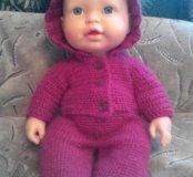 Вязаная одежда на куклу