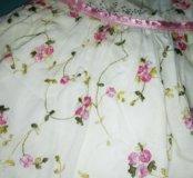 Платье с повязкой 3-6 месяцев