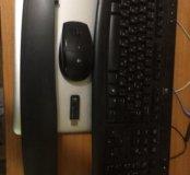 Мышь и клавиатура беспроводные Logitech (комплект)
