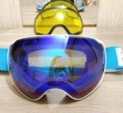 Горнолыжные очки,  маска для сноуборда