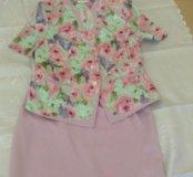 Костюм, юбки 3 шт. (Ещё юбка карандаш), блузка