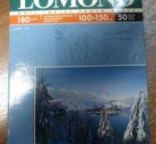 Фотобумага Lomond матовая 100х150 50 листов