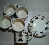Кофейный набор на 5 персон