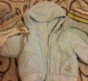 Куртка на 62-70размер