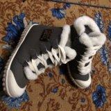 Зимние ботинки- кеды